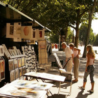 Kraampje in het Quartier Latin