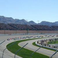 Nascar op de Las Vegas Motor Speedway