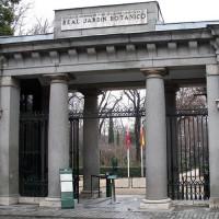 Poort naar de Real Jardín Botánico