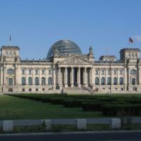 Totaalbeeld van de Reichstag