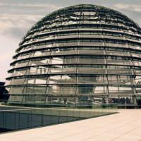 Koepel op de Reichstag