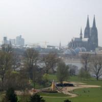 Beeld van het Rheinpark