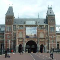 Vooraanzicht van het Rijksmuseim