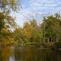 Vijver van het Rock Creek Park