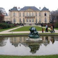Aan het Musée Rodin
