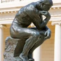 Standbeeld aan het Musée Rodin