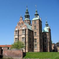 Zijaanzicht van het Rosenborgslot