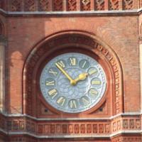 Uurwerk van het Rotes Rathaus