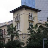 Gebouw langs Rothschild Boulevard