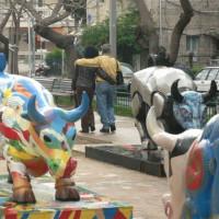 Kunst op de Rothschild Boulevard