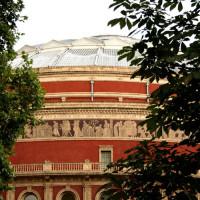 Beeld van de Royal Albert Hall