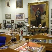 Stukje van het ROyal Ulster Rifles Museum