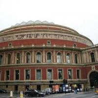 Totaalbeeld van de Royal Albert Hall