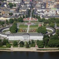 Bovenaanzicht van het Kurfürstliches Schloss