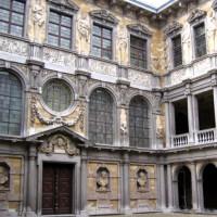 Binnenplein van het Rubenshuis