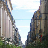 Gebouwen langs de Rue Sainte-Cathérine