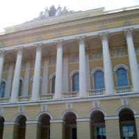 Gevel van het Russisch Museum
