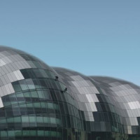 Detail van The Sage Gateshead
