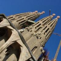 4 toren van de Sagrada Familia