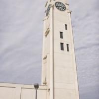 Onder aan de Sailors Memorial Clock Tower