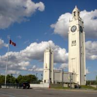 Overzicht van de Sailors Memorial Clock Tower