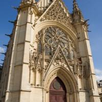 Deur van de Sainte-Chapelle