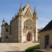 Buiten aan de Sainte-Chapelle