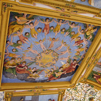 Fresco in het Salzburg Museum