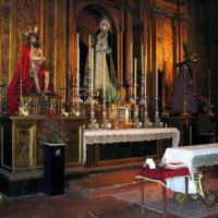 Altaar van de Iglesia del San Salvador