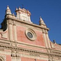 Gevel van de Iglesia del San Salvador