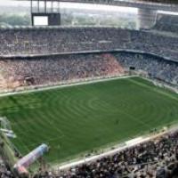 Wedstrijd in het San Siro-stadion