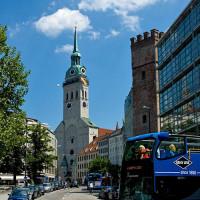 Toren van de Sankt Peter Kirche