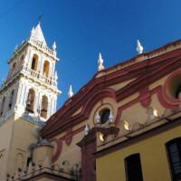 Gevel van de Iglesia de Santa Ana