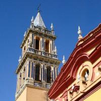 Toren van de Iglesia de Santa Ana