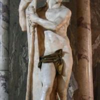Beeldje in de Santa Maria Sopra Minerva