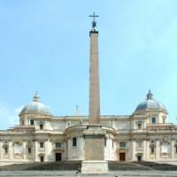 Overzicht van de Santa Maria Maggiore-basiliek