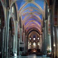 Binnen in de Santa Maria Sopra Minerva