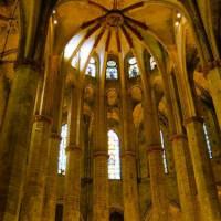 Gewelf van de Iglesia de Santa Maria del Pi