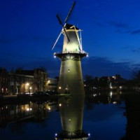 Windmolen in Schiedam