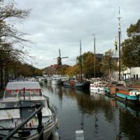 Bootjes in Schiedam