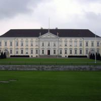 Zicht op het Schloss Bellevue