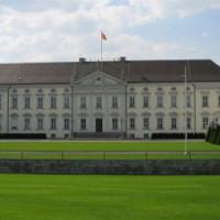 Binnenplein van het Schloss Bellevue
