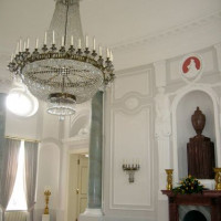 Luster in het Schloss Bellevue