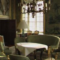Binnen in het Schloss Leopoldskron