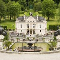 Tuin van het Schloss Linderhof