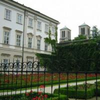 Hek rond het Schloss Mirabel