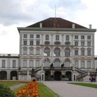 Voor het Schloss Nymphenburg