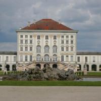 Water voor het Schloss Nymphenburg