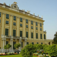 Stuk van het Schönbrunnpaleis