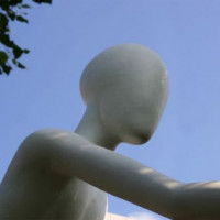 Standbeeld in Schwabing